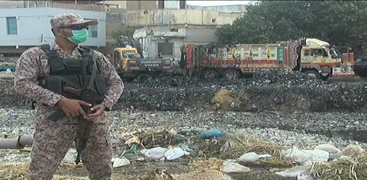 NDMA, FWO begin their Karachi clean up campaign - Voice of Sindh